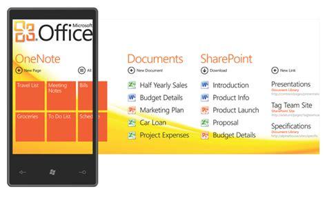 Microsoft Office Word Mobile Windows Phone 7 Spotlights Sharepoint Collaboration Pcworld