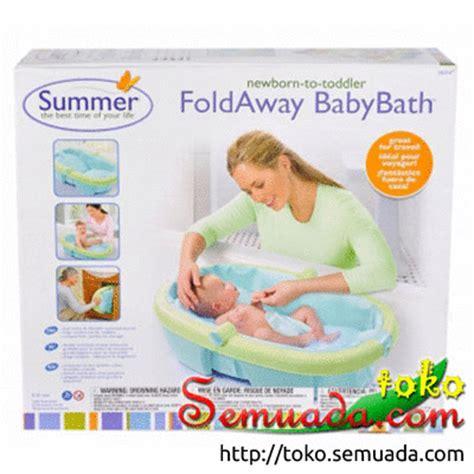Bak Mandi Bayi Empuk jual murah baby bather bak mandi bayi summer fold away