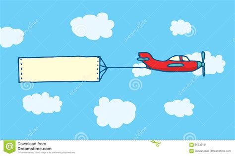 Plain Voal airplane clipart message banner pencil and in color