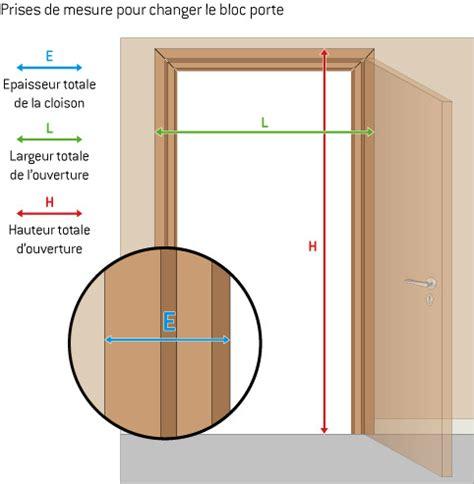 remplacer un bloc porte 4711 b 226 timent brique changer les portes d interieur