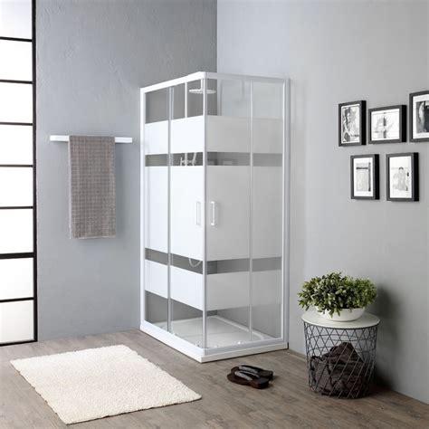 doccia 70x100 doccia 70x100 cristallo serigrafia 4mm prezzo economico
