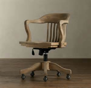 Vintage Wood Office Chair by Vintage Wood Office Chair Traditional Office Chairs With