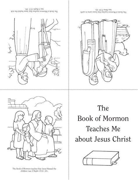 coloring pages book of mormon lesson 22 the book of mormon teaches me about jesus christ