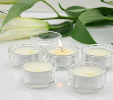 Plain Glass Candle Holders by Aliexpress Buy 72 Pieces Clear Glass Candle Holders