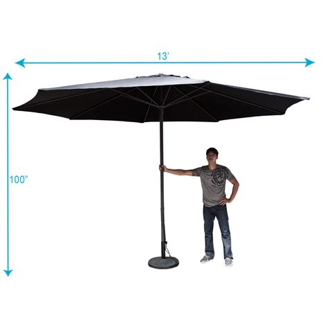 13 patio umbrella 13 foot patio umbrella 13 ft outdoor patio market