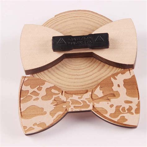 Handmade Mens Gifts - wooden handmade bow tie s gifts fashion handmade