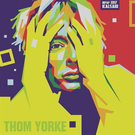 Thom Yorke Radiohead In Wpap 41 best wpap images on road pop and