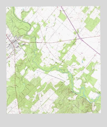 george west tx topographic map topoquest