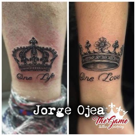 one love tattoo kings cross chess king and queen tattoos