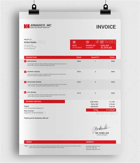 design business invoice what is a professional invoice a complete beginner s guide