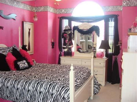 red and zebra print bedroom ideas zebra and hot pink bedroom thank heaven for little girls