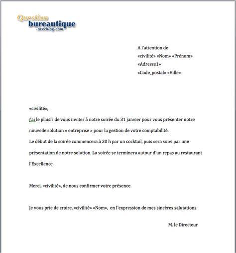 Exemple De Lettre Sous Word Principe Du Publipostage Ou Emailing Sous Word Cours Faciles Sur Les Principales Fonctions De