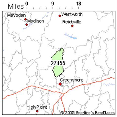 greensboro zip code map greensboro zip 27455 carolina mortgages