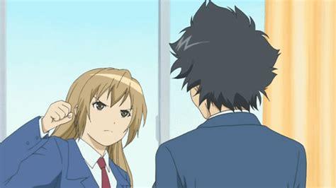 beware of haruka s right fist punch combo anime manga