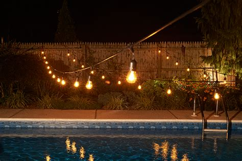 outdoor commercial string lights 0