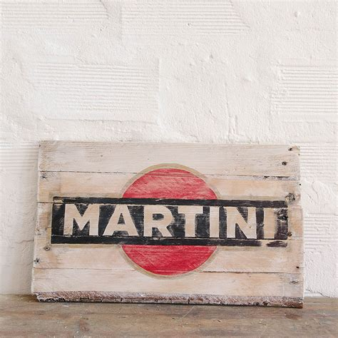 martini vintage martini vintage wood sign insegna martini vintage in legno
