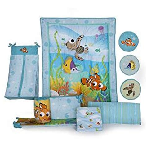 finding nemo bedroom set amazon com disney finding nemo 8 piece crib bedding set