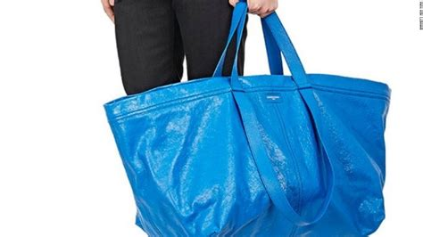 ikea bags balenciaga s 2 145 bag is just like ikea s 99 cent tote