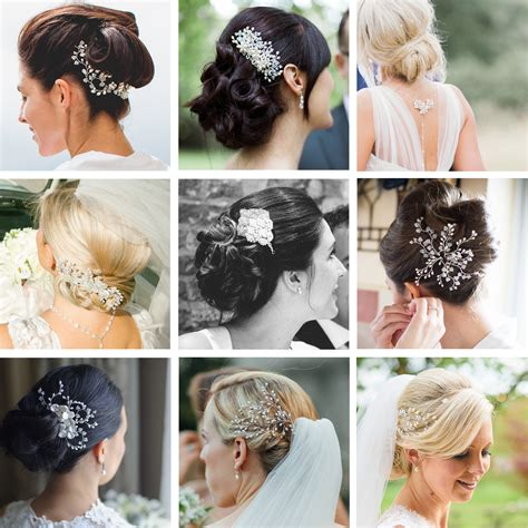 Hairstyle Accessories Bun by Wedding Bun Hairstyles Wedding Hair Accessories