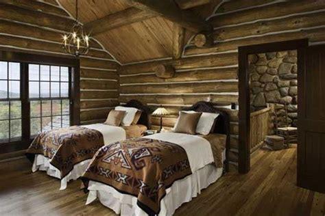 Teton Heritage Builders Builds Custom Log Timber Modern Master Bedroom Decorating Ideas