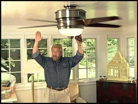 benefit of a ceiling fan heater