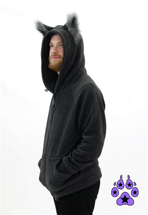 Hoodie Wolf pawstar classic wolfy howl hoodie wolf you