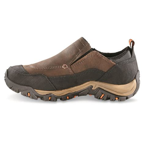 waterproof shoes merrell s polarand rove waterproof moc toe slip on