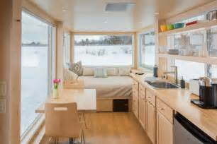 tiny homes interior pictures vista a tiny house that mixes contemporary design and comfort