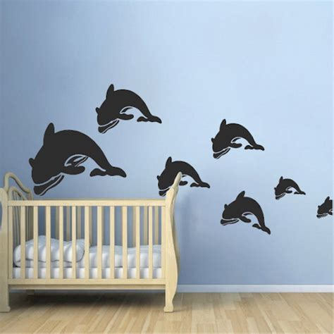 Dolphin Wall Sticker dolphin wall decal stickers trendy wall designs