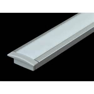 Nove line recessed led profile under bench and strip lighting