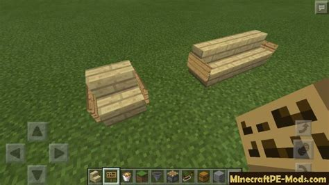 How To Make Furniture In Minecraft Pe by How To Make Furniture Out Of Simple Blocks In Minecraft Pe