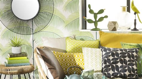 Deco Jungle Chic by La Tendance D 233 Co Jungle Chez Maisons Du Monde