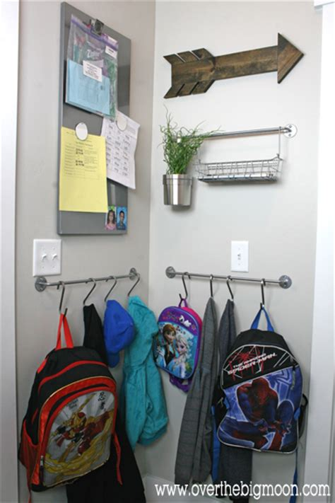 organizing your home with s hooks