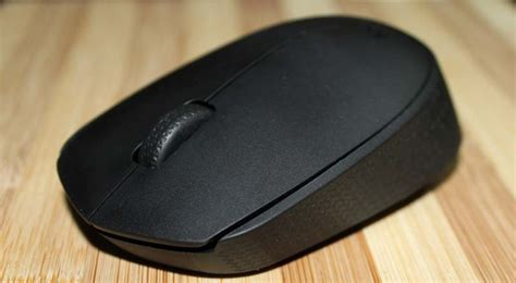 Mouse Wireless Logitech B170 Black logitech b170 wireless mouse review gizarena
