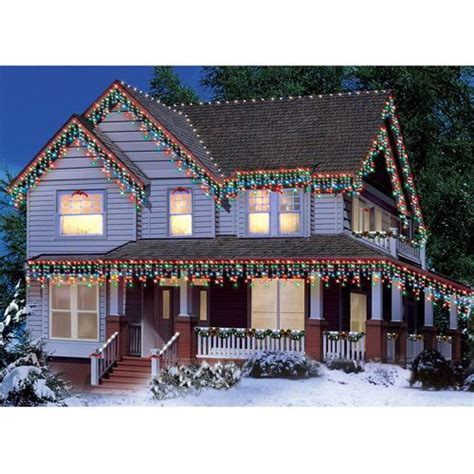 multi color icicle lights 300 count icicle lights multi color