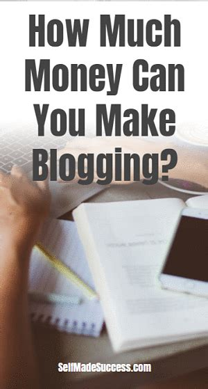 How Much Money Can You Make Doing Online Surveys - how much money can you make blogging self made success