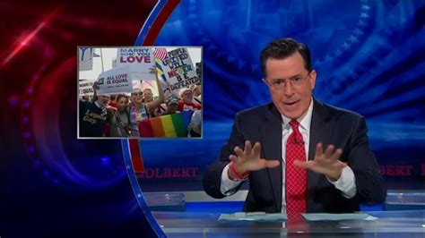 supreme court ruling on doma colbert isn t pleased with supreme court ruling on doma