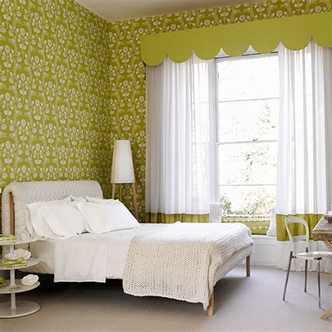 green wallpaper for bedroom green bedroom with modern floral wallpaper colourful