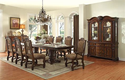 dining room set for 8 dining room 8 seat table sets formal tables