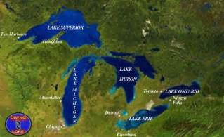 5 great lakes on us map jayworldgepgraphy water systems cameron