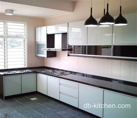 acrylic kitchen cabinets high gloss color mixed acrylic kitchen cabinet simple design