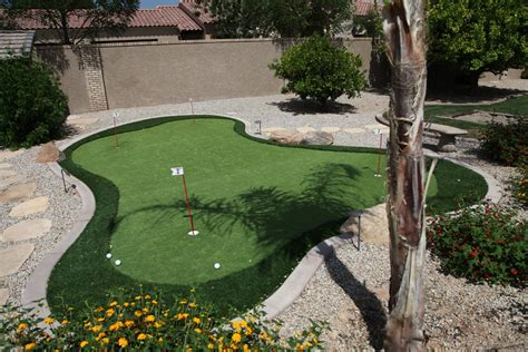 putting greens valley view landscaping