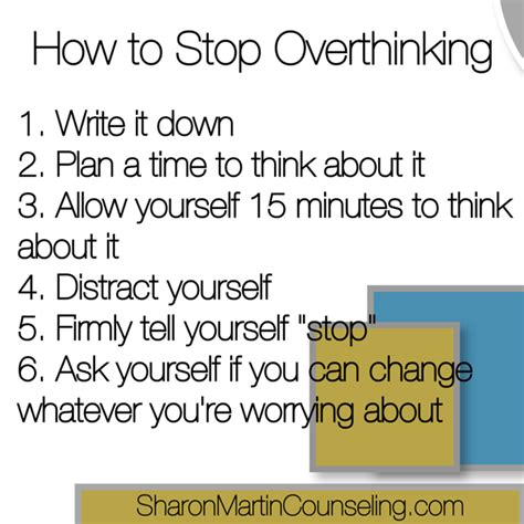 How To Stop Finding You On How To Stop Overthinking