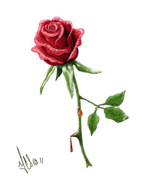 rose tattoo design by twistedmentality on deviantart