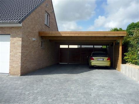 moderne carport carports moderne adoss 233 veranclassic