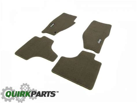 find 2008 2010 jeep liberty carpeted floor mats set of 4