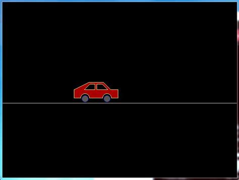 Moving L by C Program For Moving Car Animation Using C Graphics