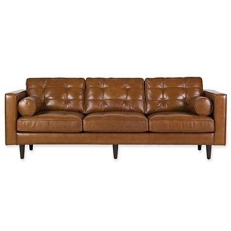 Jcpenney Sectional Sofas Darrin 89 Quot Leather Sofa Jcpenney Chair Obsession Pinterest Mid Century Leather And