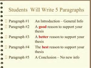 How To Write A Five Paragraph Essay by How To Write A 5 Paragraph Essay Trustemo