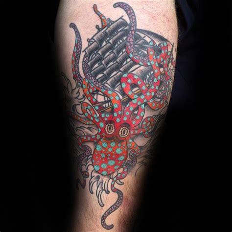 polka dot tattoo designs 100 kraken designs for sea ink ideas